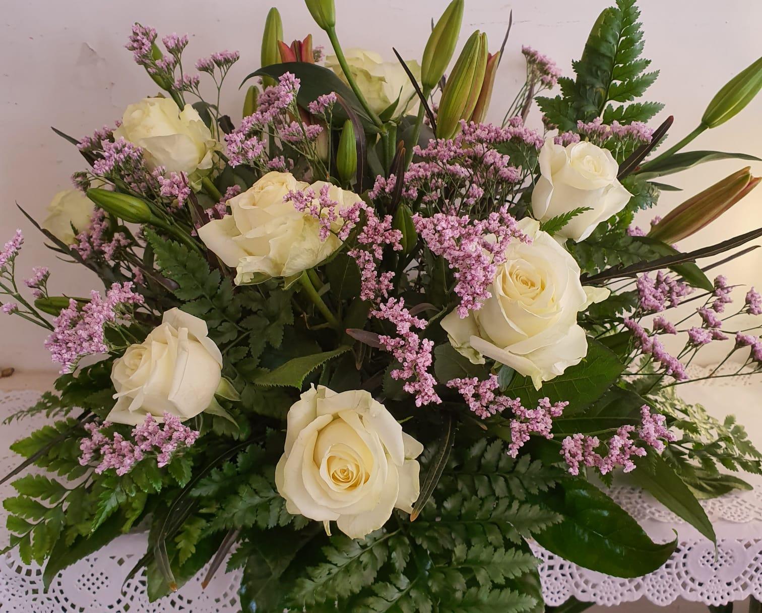 סידור ורדים שולחני
